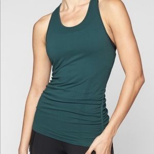 Athleta speedlight tank jade green